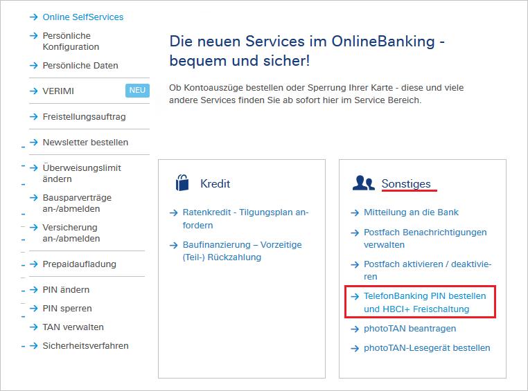 Deutsche Bank Adresse ändern Online